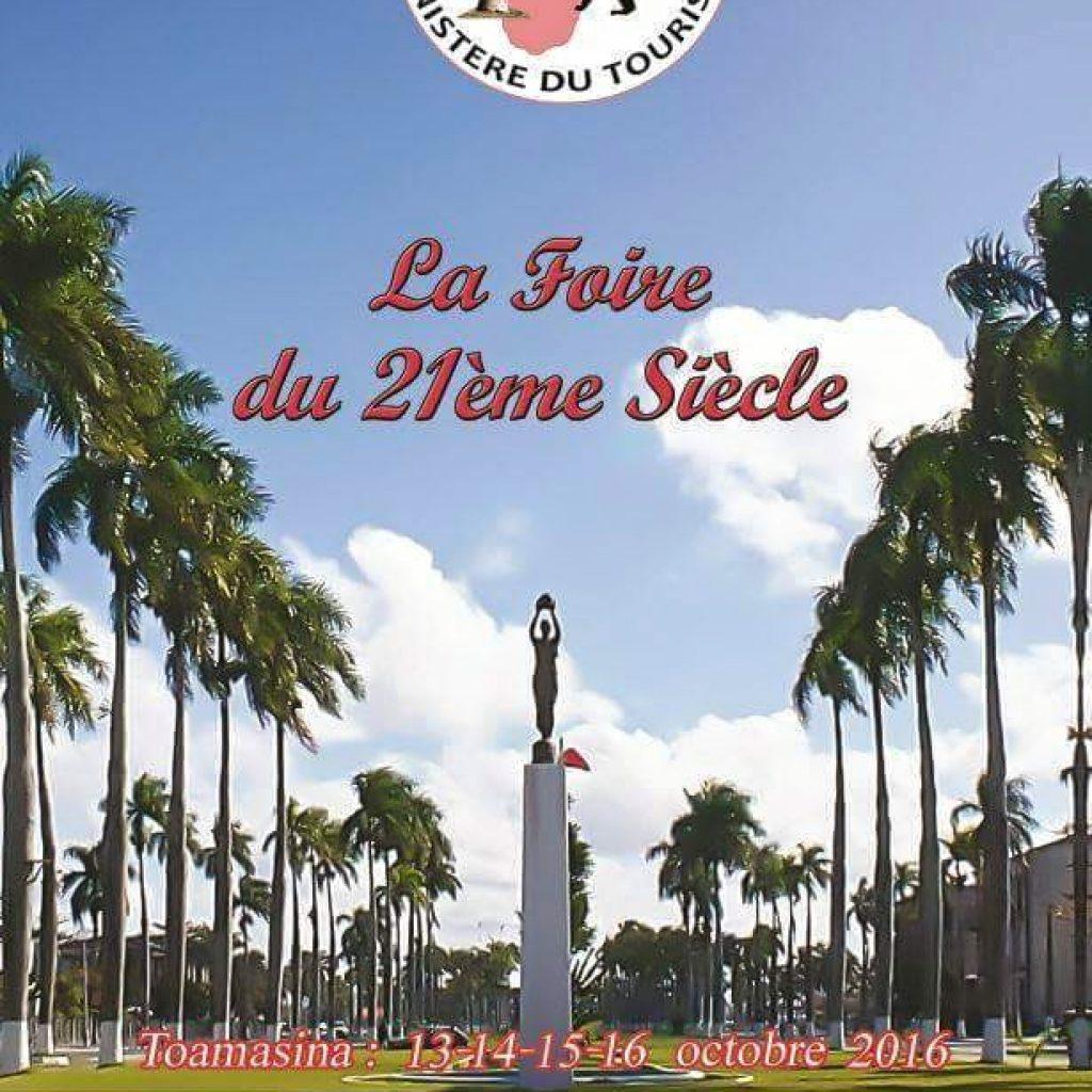 La Foire Internationale du 21e siècle se tiendra du 13 au 15 octobre 2016 à Toamasina !
