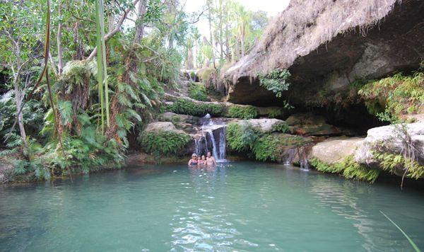 Se Baigner Dans La Piscine Naturelle De L'Isalo