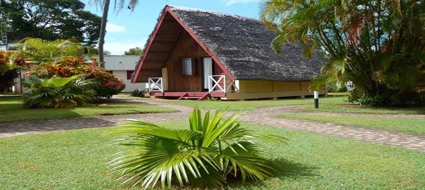 Le bungalow à Madagascar