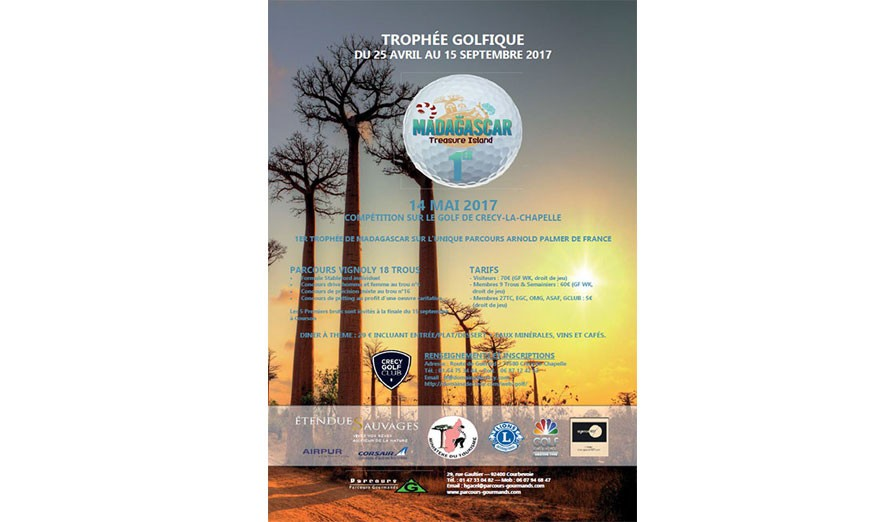1er Trophée de Golf de Madagascar : découvrir et golfer sur Treasure Island