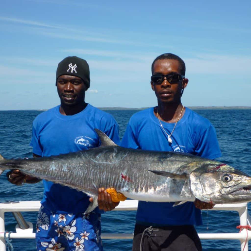 La pêche sportive à Nosy-Be durant les vacances