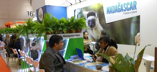 Questo Madagascar alle show World Travel di Londra