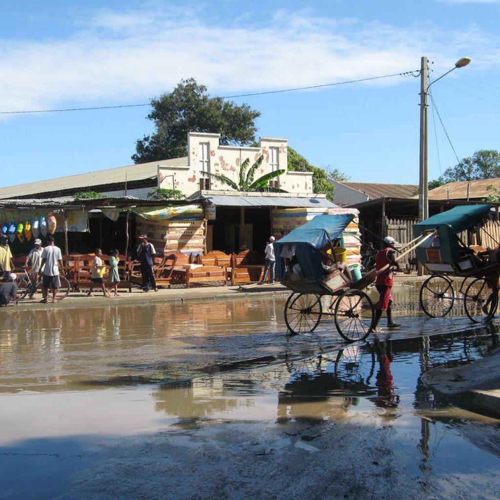 Tulear, capitale del Madagascar del sud.