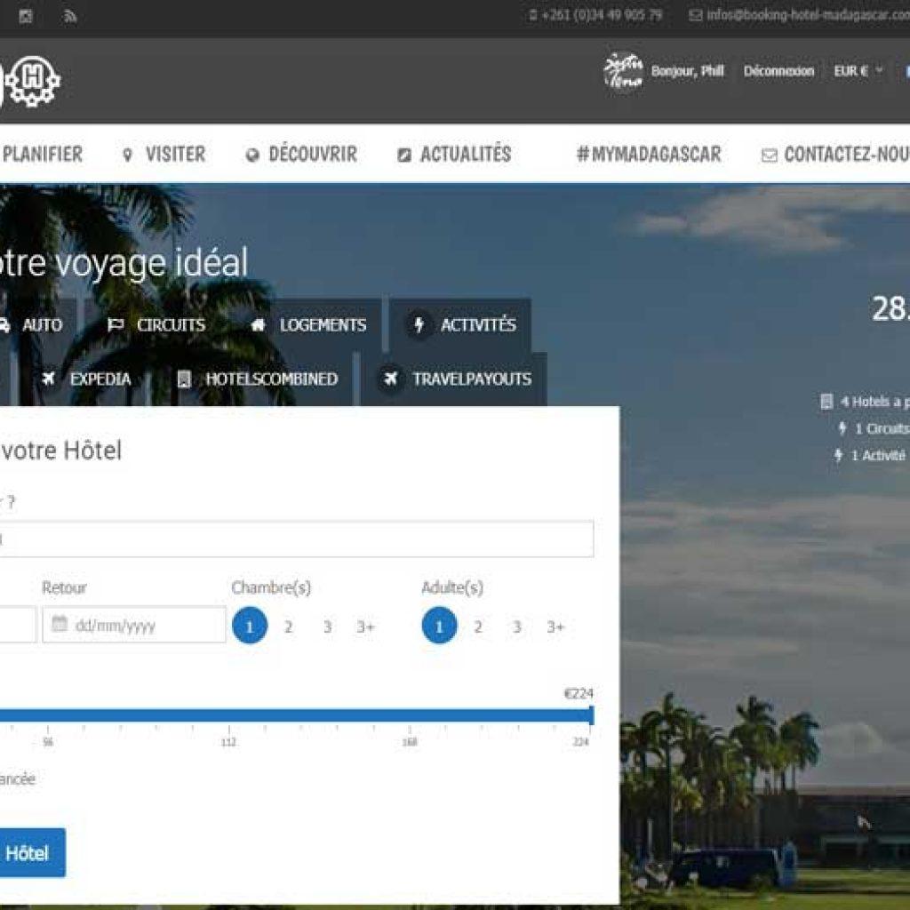 Le nouveau site Booking Hotel Madagascar est opérationnelle