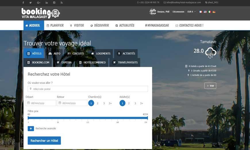 Booking Hotel Madagascar
