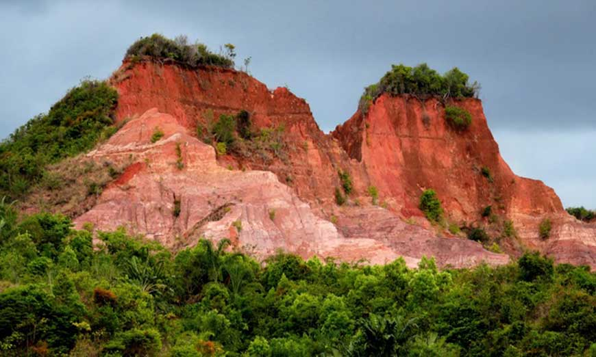 Der Red Circus von Mahajanga im Nordwesten von Madagaskar