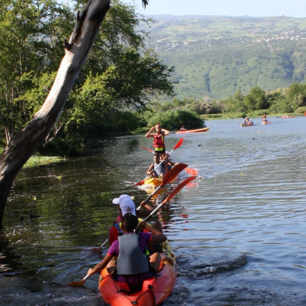 Raid'AV 974 à Sainte-Marie: Pirogue, tyrolienne, canoë, run et trail