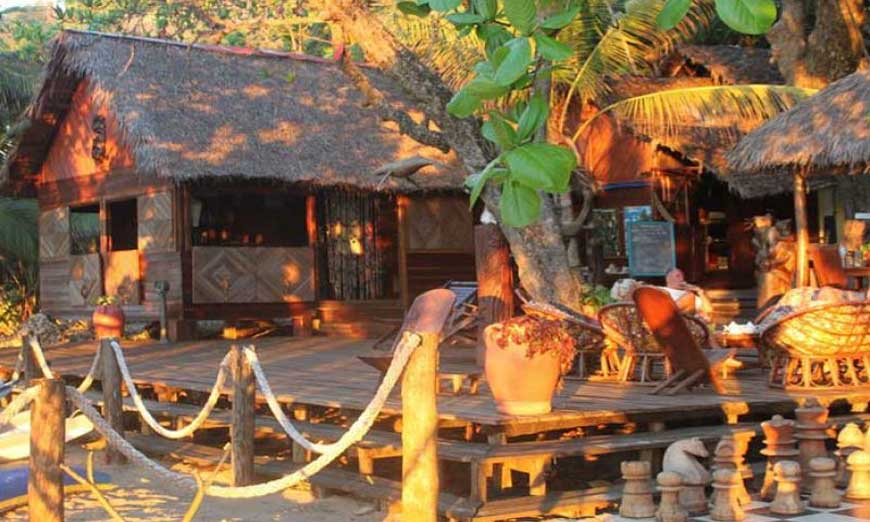 Lodge à Nosy-Be
