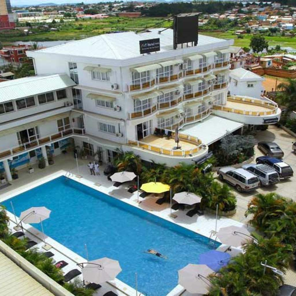 Hôtel à Antananarivo près de l'Aéroport international d'Ivato