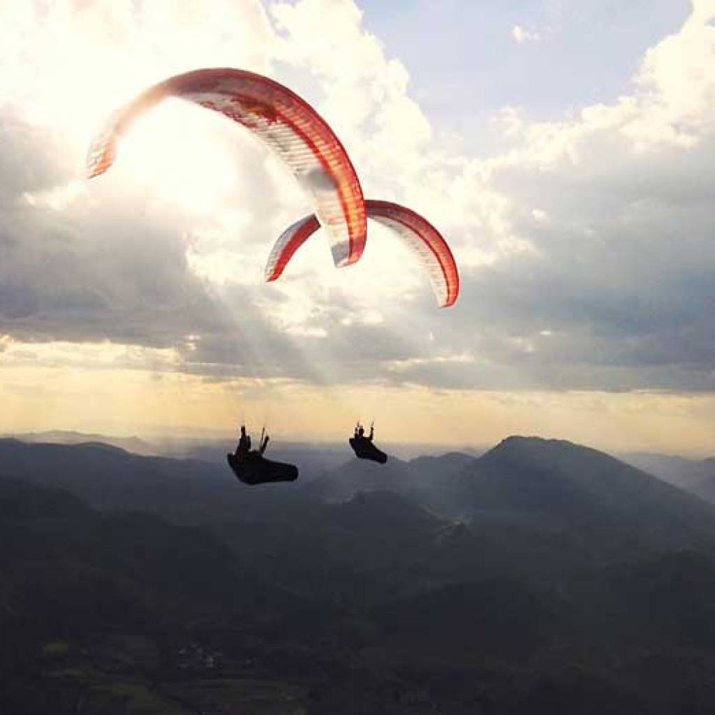 Paragliding in Madagaskar
