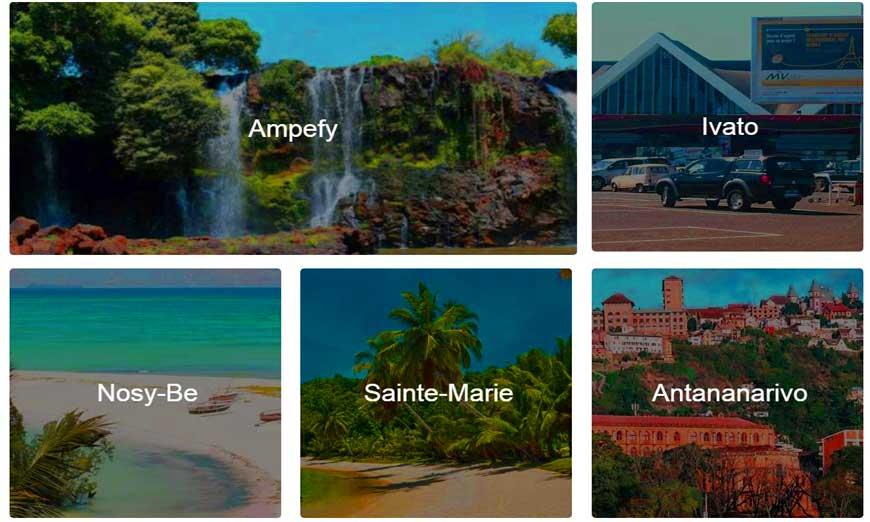 nouveau Booking Hôtel Madagascar
