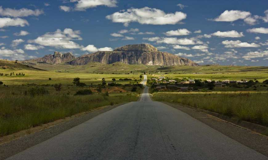 Sud de Madagascar en KTM