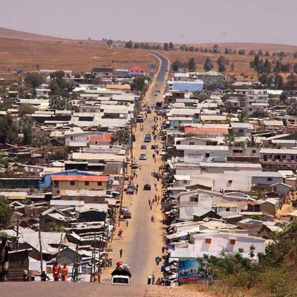 La ricchezza del piano interrato del Madagascar