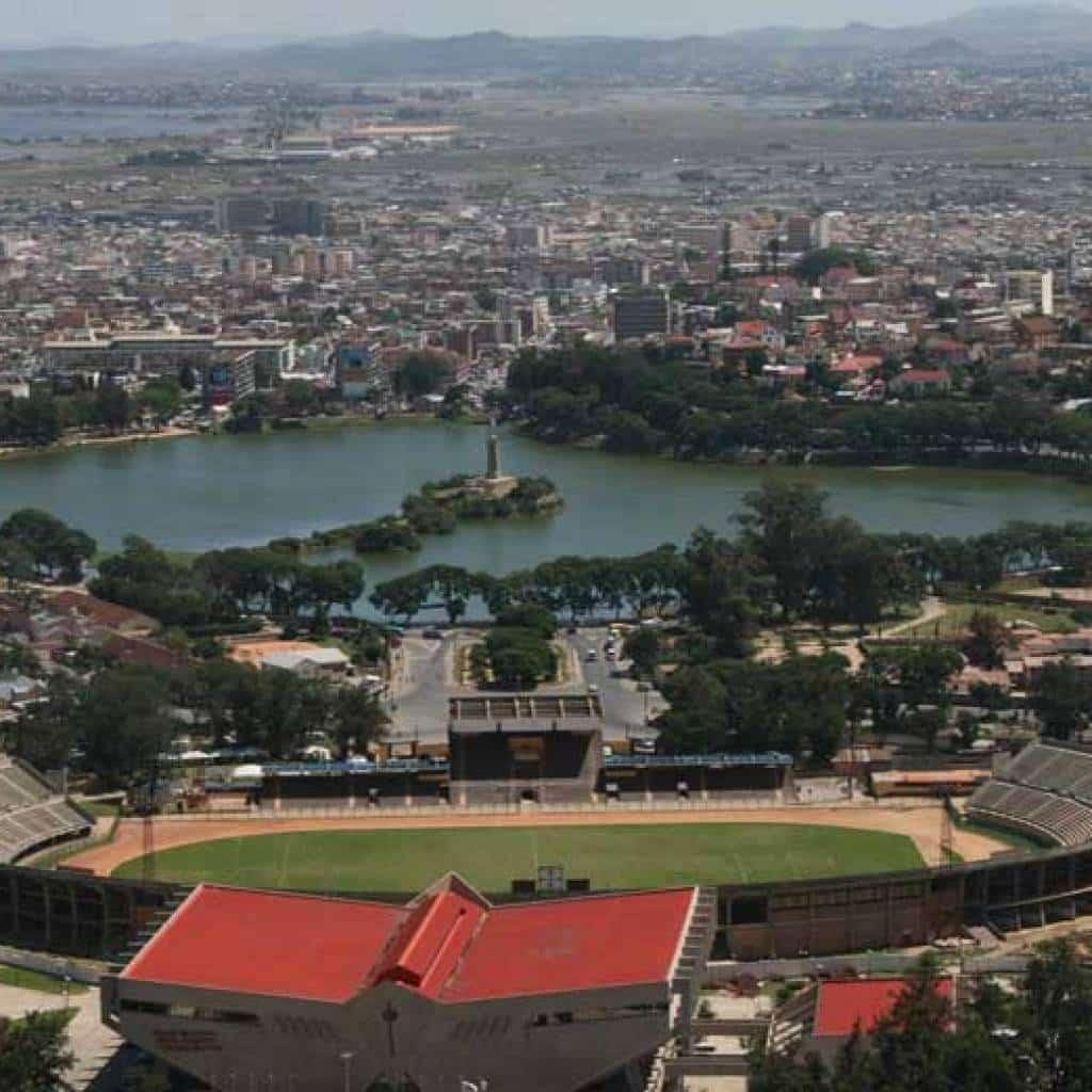 Madagascar et sa capitale, Antananarivo