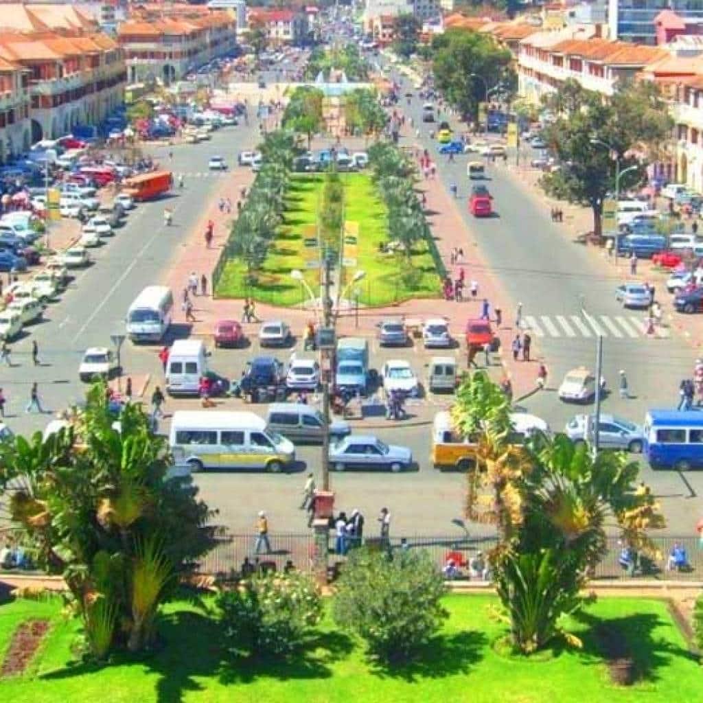 Analakely : statt, die vibriert Antananarivo